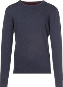 Granatowy sweter born2be w stylu casual