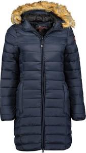 Granatowy płaszcz Anapurna