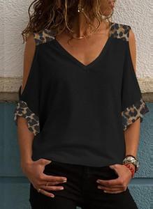 Czarna bluzka Sandbella z dekoltem w kształcie litery v