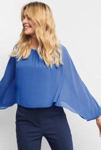 Niebieska bluzka ORSAY z długim rękawem
