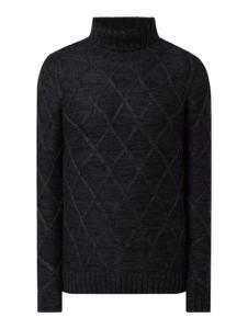 Czarny sweter Redefined Rebel w stylu casual