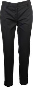 Czarne spodnie Prada