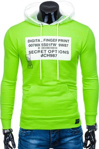 Zielona bluza Edoti w młodzieżowym stylu