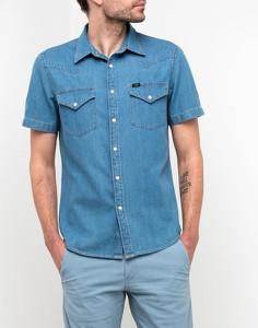 Niebieska koszula Lee