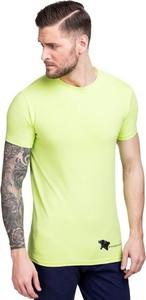 Zielony t-shirt giacomo conti