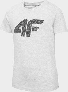 Koszulka dziecięca 4F z bawełny