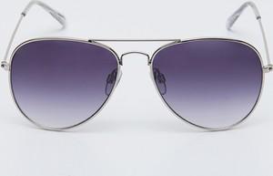 Niebieskie okulary damskie Sinsay
