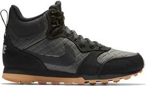 Buty sportowe Nike md runner w sportowym stylu z płaską podeszwą