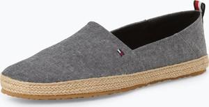 c495a785b72cf Niebieskie buty letnie męskie Tommy Hilfiger w stylu casual z tkaniny