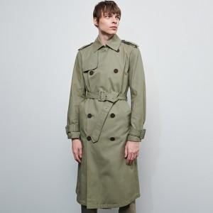Płaszcz męski Reserved z bawełny