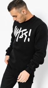 Czarna bluza Massdnm w młodzieżowym stylu z bawełny