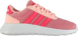 Różowe trampki dziecięce Adidas