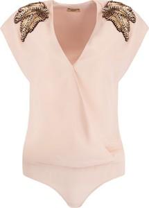 Różowa bluzka Liu Jo Gold