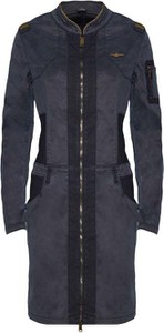 Sukienka Aeronautica Militare w stylu casual mini koszulowa