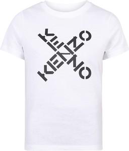 T-shirt Kenzo w młodzieżowym stylu z bawełny