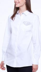 Koszula L'AF z kołnierzykiem z długim rękawem z bawełny