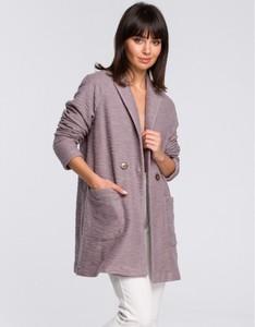 Fioletowy płaszcz Be