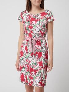Sukienka Gerry Weber z krótkim rękawem z okrągłym dekoltem mini
