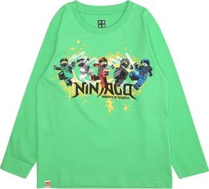 Zielona koszulka dziecięca LEGO Wear