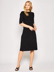 Sukienka Max & Co. midi z okrągłym dekoltem