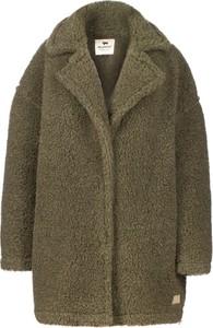 Zielony płaszcz Alwero w stylu casual