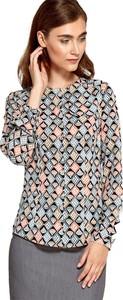 Bluzka Nife z okrągłym dekoltem