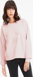 Różowa bluza Puma z bawełny