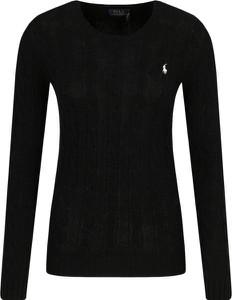 Czarny sweter POLO RALPH LAUREN z kaszmiru w stylu casual