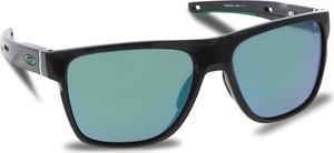 Okulary przeciwsłoneczne OAKLEY - Crossrange Xl OO9360-0258 Polished Black/Jade Iridium