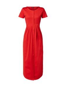 Sukienka Weekend Max Mara z krótkim rękawem z bawełny z okrągłym dekoltem