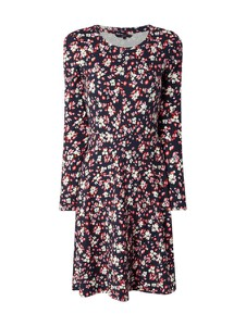 Sukienka Vero Moda z długim rękawem z dżerseju z okrągłym dekoltem