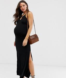 Czarna sukienka New Look Maternity
