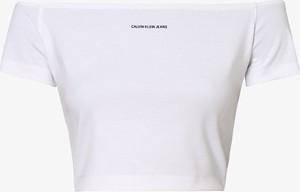 Top Calvin Klein z okrągłym dekoltem
