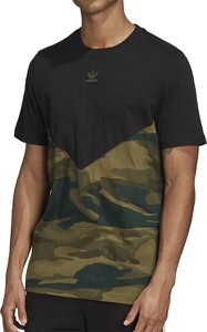 T-shirt Adidas z bawełny