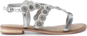 Sandały Carmela z klamrami z płaską podeszwą w stylu casual