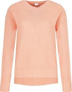 Różowy sweter Hugo Boss