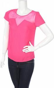 Różowa bluzka Hot Options z okrągłym dekoltem