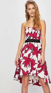 Sukienka Morgan mini z tkaniny bez rękawów