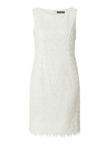 Sukienka Vera Mont mini bez rękawów z szyfonu
