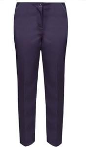 Fioletowe spodnie Fokus