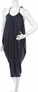 Granatowa sukienka S'nob By Sans Noblesse midi