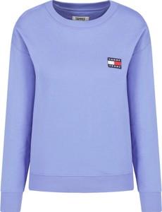 Niebieska bluza Tommy Jeans krótka