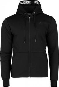 Czarna bluza Outhorn w street stylu z bawełny