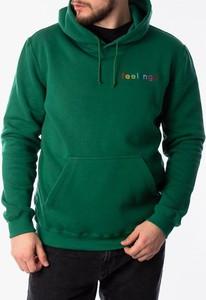 Zielona bluza Feelings w młodzieżowym stylu