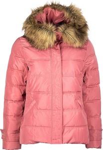 Różowa kurtka Esprit w stylu casual