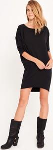 Czarna sukienka Byinsomnia z bawełny