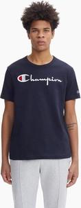 T-shirt Champion z krótkim rękawem w młodzieżowym stylu