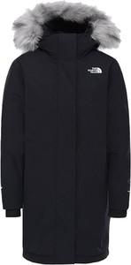 Kurtka The North Face w sportowym stylu długa z bawełny