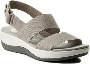 Sandały Clarks z klamrami