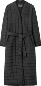 Czarny płaszcz Brixtol Textiles